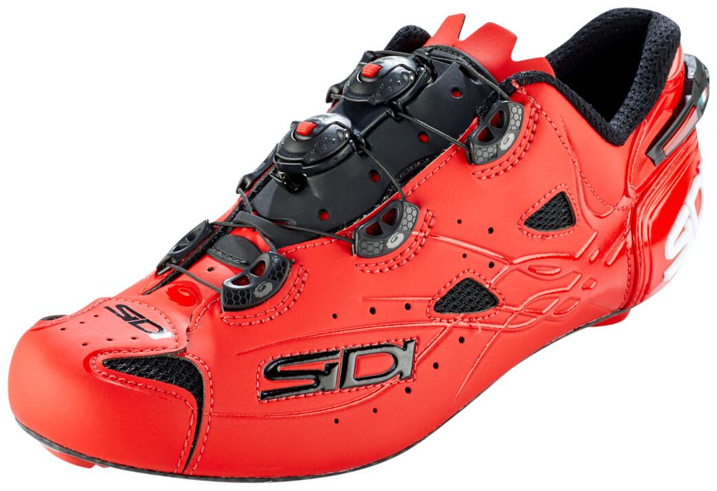 Sidi Shot Chaussures Homme, matt red